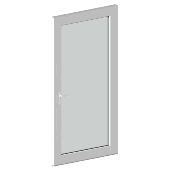 Однопольная огнеупорная дверь ДСОО-1-15
