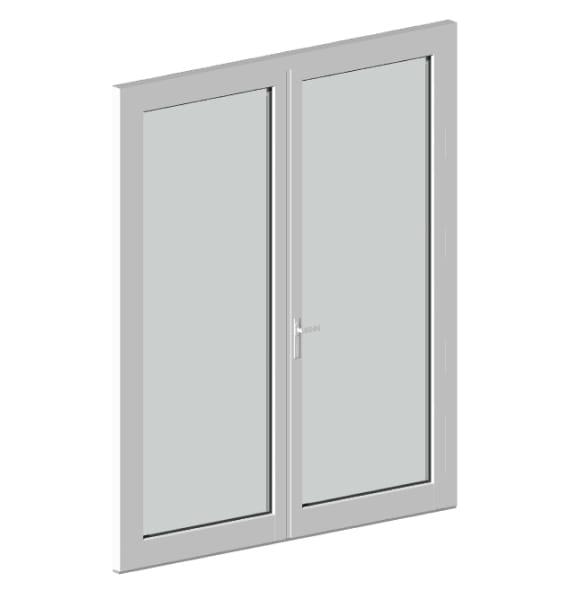 Двустворчатые огнестойкие двери ДСОД-1-15