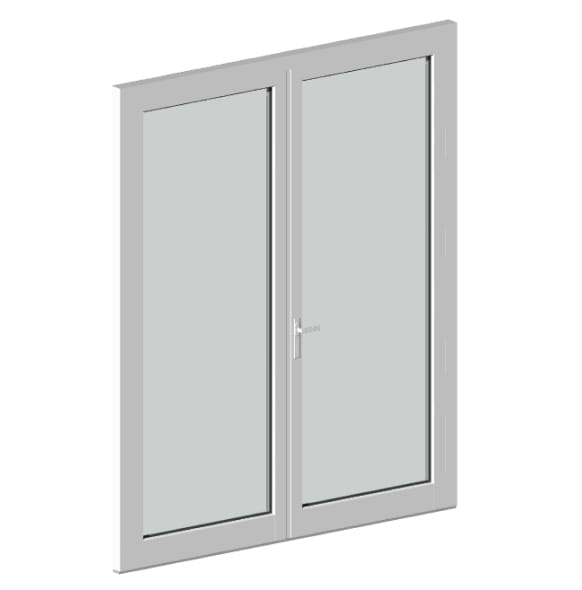 Двустворчатые двери ДСОД-1-60